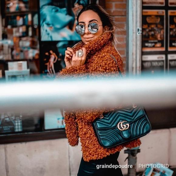 Zara Jackets & Blazers - Zara Blogger Brown Teddy Curly Faux Fur Coat M